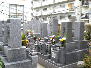 神戸市中央区にあるお墓、福徳寺墓地