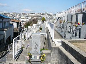 神戸市垂水区にあるお墓、乙木墓地