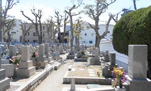 神戸市兵庫区にあるお墓、真光寺墓地