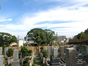 神戸市須磨区にあるお墓、須磨寺墓地