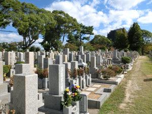 神戸市垂水区にあるお墓、長傳寺舞子墓地