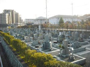 神戸市北区にあるお墓、道場川原墓地
