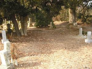 神戸市西区にあるお墓、上山畑の三墓地