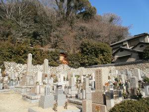 神戸市東灘区にあるお墓、北畑墓地