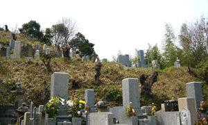 神戸市西区にあるお墓、長坂墓地