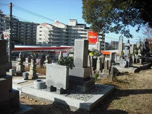 神戸市北区にあるお墓、牛上墓地