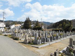 神戸市北区にあるお墓、上唐櫃墓地