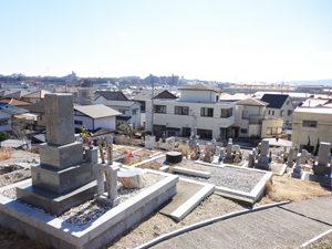 神戸市西区にあるお墓、白水墓地