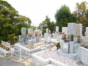 神戸市垂水区にあるお墓、多聞墓地