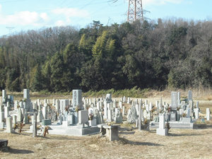 神戸市西区にあるお墓、広谷東墓地
