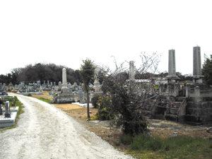 神戸市西区にあるお墓、上北古墓地