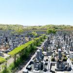 神戸市立西神墓園の区画写真