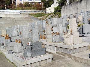 神戸市灘区にあるお墓、徳井墓地
