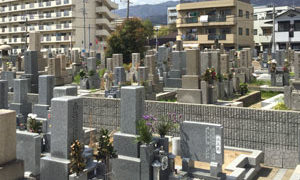神戸市東灘区にあるお墓、深江墓地