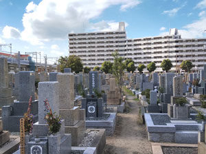 神戸市東灘区にあるお墓、本庄墓地