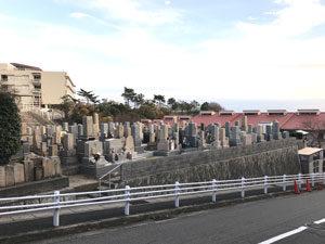 神戸市東灘区にあるお墓、森墓地