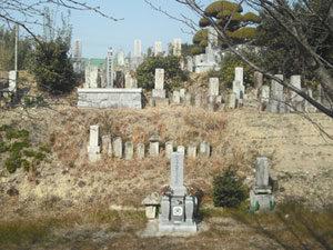 神戸市西区にあるお墓、下北古西墓地