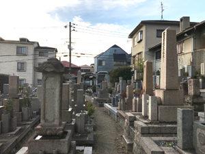神戸市東灘区にあるお墓、田邊墓地