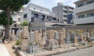 神戸市灘区にあるお墓、慶光寺墓地