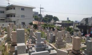 神戸市灘区にあるお墓、篠原墓地