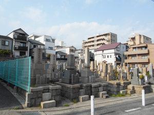 神戸市灘区にあるお墓、都賀墓地