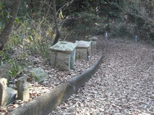 神戸市西区にあるお墓、神出東中墓地