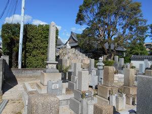 神戸市垂水区にあるお墓、継孝院墓地