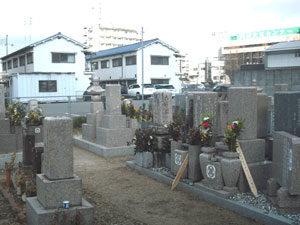 神戸市西区にあるお墓、新方墓地