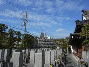 神戸市垂水区にあるお墓、通照院墓地