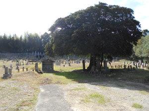 神戸市西区にある墓地、赤坂墓地