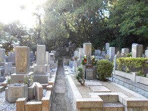 神戸市垂水区にあるお墓、浄福寺舞子墓地