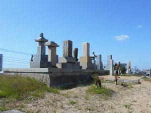 神戸市西区にある墓地、高津橋共同墓地