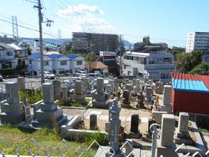 神戸市垂水区にある墓地、舞子坂墓地