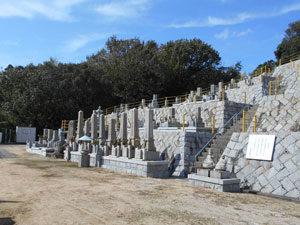 神戸市垂水区にあるお墓、西名谷墓地