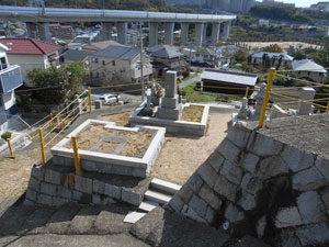 神戸市垂水区にある墓地、西名谷墓地