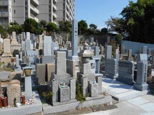 神戸市須磨区にある霊園墓地・お墓、西須磨協議会墓地