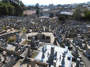 神戸市須磨区にある墓地、西須磨協議会霊園
