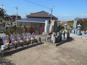 神戸市西区にある墓地、新場墓地
