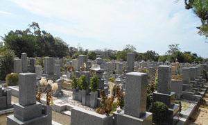 神戸市垂水区にある墓地、薬仙寺舞子墓地