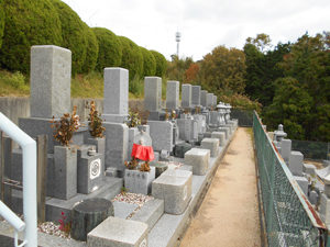 神戸市西区にあるお墓、地蔵院墓地