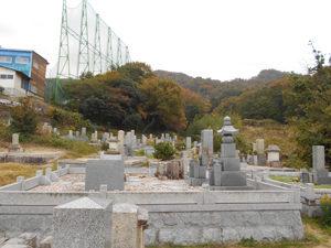 神戸市北区にあるお墓、五社西墓地