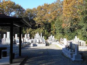 神戸市北区にあるお墓、大沢町神付墓地