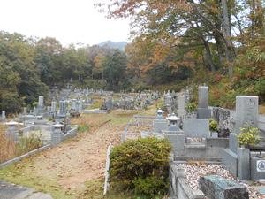 神戸市北区にある霊園墓地・お墓、山田町福地墓地