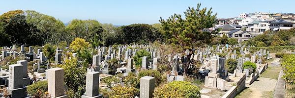 神戸市の舞子墓園の写真